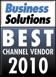 2010 Business Solutions Channel Vendor